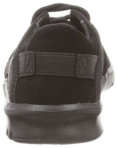 Etnies Scouts Negro Suede Hombres Skate Trainers Zapatos