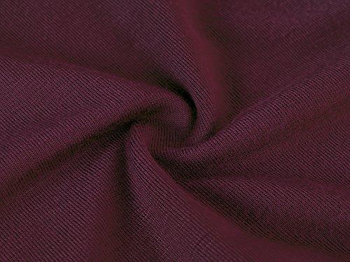 vin Classique Shirt de courtes Robe dt Robe Robe Rouge plage femme HENCY femme de manches L 60qwzRn