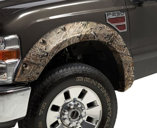 Camo Fender Flares - Stampede 8412-16 Ruff Riderz Fender Flare with Mossy Oak Duck Blind Pattern, Camo