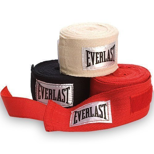Everlast Hand Wraps – Red, 108 Inch