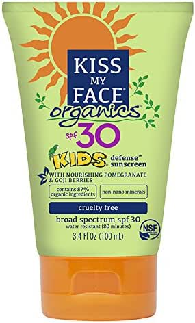 Sunscreen & Tanning: Kiss My Face