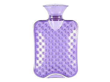 Amazon.com: JKLcom - Botella de agua caliente, transparente ...