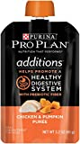 Purina Pro Plan Meal Enhancements for Dogs, Savor Additions Chicken & Pumpkin Puree, 3.2-Ounce Pouch, Pack of 14