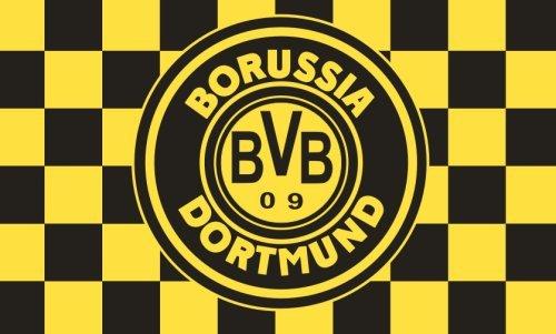 BVB Drapeau Flag Banner Fahne 3x5 Feet 90x150 Cm