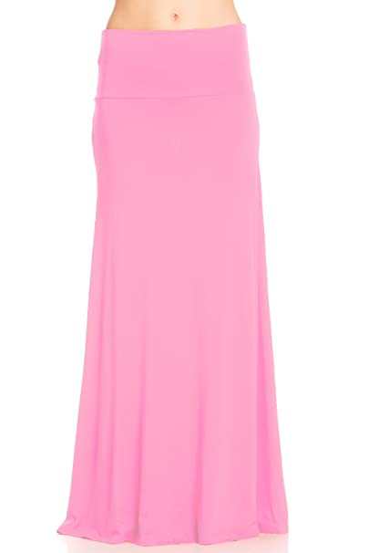 933327d67d Frumos Womens Maxi Skirts Pink 2X-Large at Amazon Women's Clothing ...