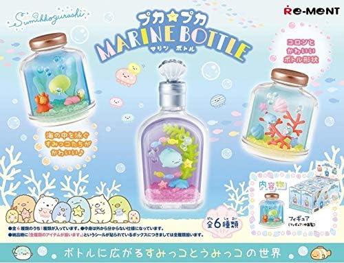 Re-Ment Miniature Japan Sumikko Gurashi Marine Bottle Terrarium Full Set 6 Packs