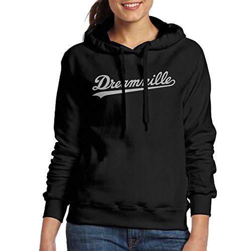 Dreamville Records Women's Fleece Hoodie S Black