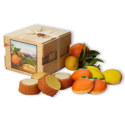 Citrus Cakes & Cookies - Gift Crate