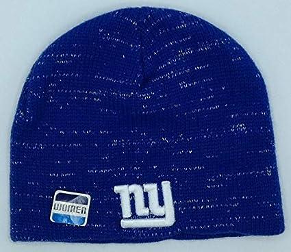 b7f517dbe Amazon.com : A-Team Apparel NFL New York Giants Womens Winter Knit ...