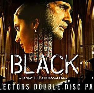 amazoncom black amitabh bachchan 2 disc set dvd