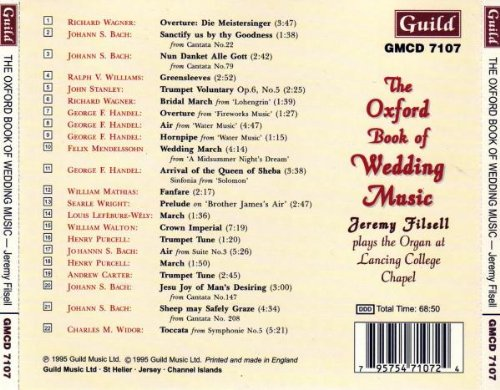 Oxford Book of Wedding Music by Guild