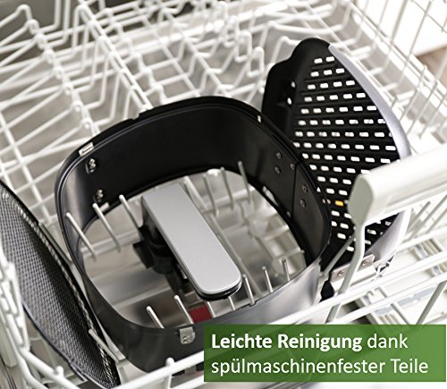 Airfryer Teile in Spülmaschine