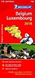 Belgium & Luxembourg 2018 National Map 716 2018 (Michelin National Maps)