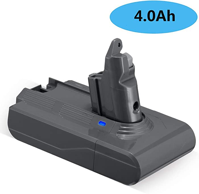 FirstPower 4.0Ah Replacement Battery - Compatible for V6 SV04 DC58 DC59 DC61 DC62 DC72 DC74 Absolute Animal Motorhead Slim SV03 SV04 SV05 SV06 SV07 SV09