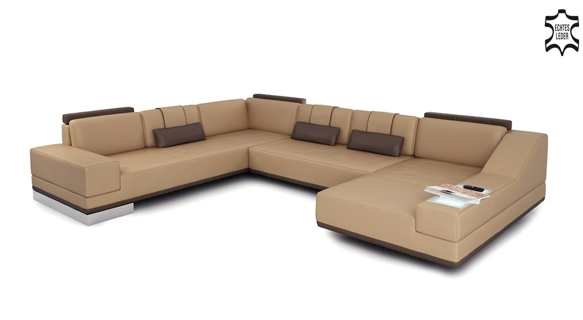 Couch u form modern for Couch xxl u form