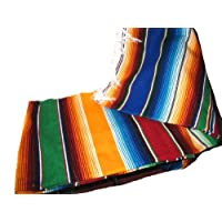 Mantas mexicanas auténticas grandes Mantas coloridas de sarape surtidas