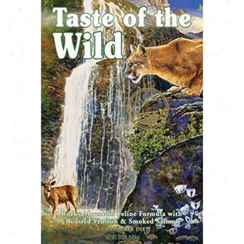 Taste of the Wild Rocky Mountain Feline Formula, 5 Pounds (Taste Of The Wild For Sensitive Stomachs)