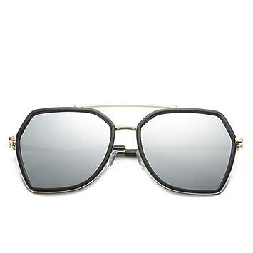 DFIHDCN Gafas de Sol Gafas de Sol de Moda para Mujer Marco ...