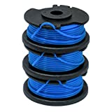GardenNinja 0.065'' Replacement Trimmer Spool Compatible Ryobi One+ AC14RL3A, 3-Pack