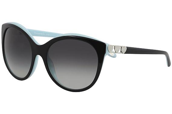 fe149cf88e5 Tiffany RETURN TO TIFFANY LOVE TF 4133 BLACK GREY SHADED women Sunglasses