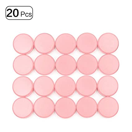 Imanes para nevera (20 unidades, 30 mm), color rojo, color rosa ...