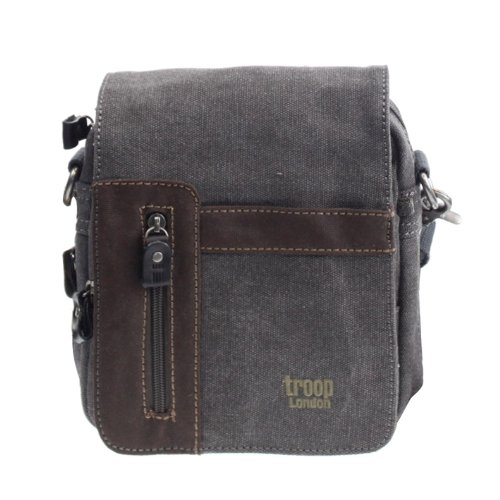 Borsa a Tracolla Troop London Classica Nera TRP0366