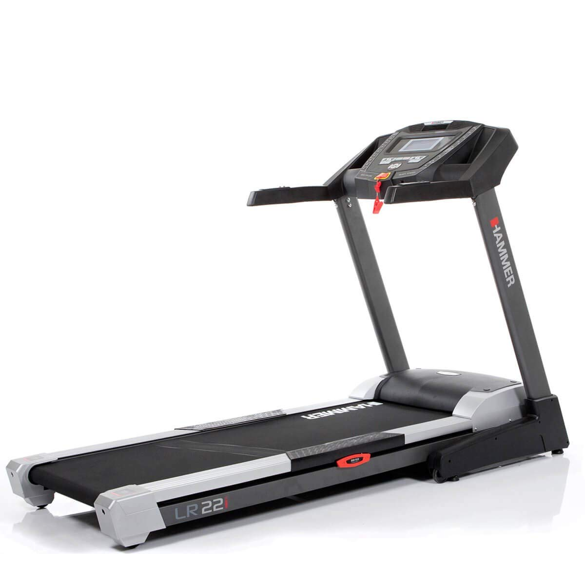 Hammer - Cinta de correr plegable Life Runner LR 22i hasta 22 km/h ...