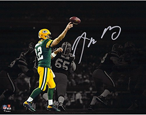 Aaron Rodgers Green Bay Packers Autographed 11