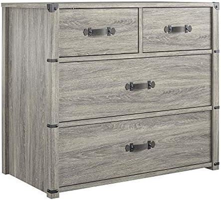 Editors' Choice: Little Seeds Nova 4 Drawer Storage Grey Dresser