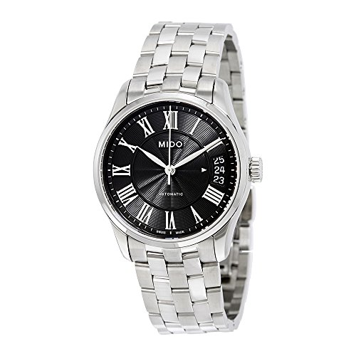Mido Belluna II Automatic Black Dial Ladies Watch M024.207.11.053.00