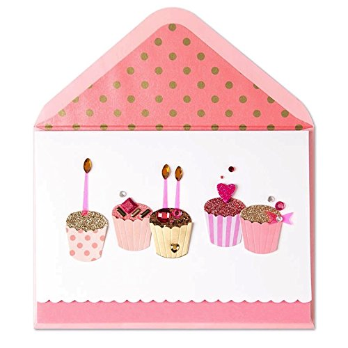 us Handmade Birthday Cupcakes by Papyrus (Fabulous Birthday Card)