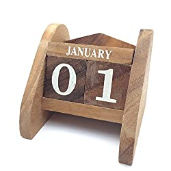 Brain Games Wooden Calendar