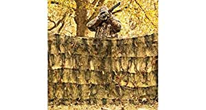 Red Rock Outdoor Gear Ghillie Blind Camouflage Netting, Desert, 5 X 12-Feet
