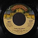 hard luck woman 45 rpm single