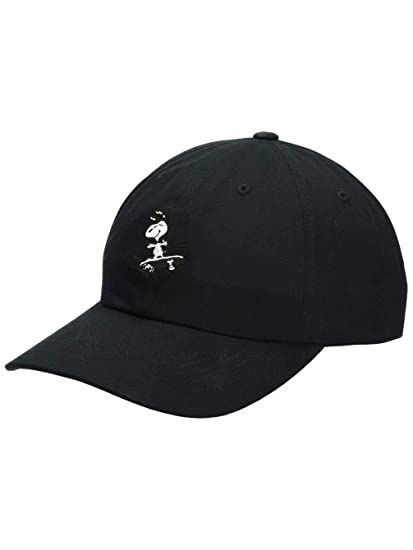 HUF x Peanuts Snoopy SK8 6 Panel Hat Black  Amazon.co.uk  Clothing a22a092567d