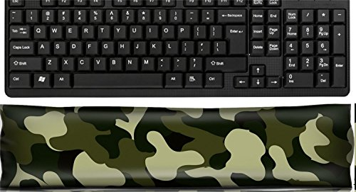 (Liili Keyboard Wrist Rest Pad Office Decor Wrist Supporter Pillow CAMOUFLAGE abstract as wallpaper 27980417)