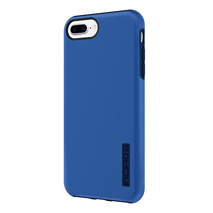 buy online 1ab9b e335b iPhone 7 Plus Case, Incipio [Hard Shell] [Dual Layer] DualPro Case for  iPhone 7 Plus-Iridescent Nautical Blue/Blue