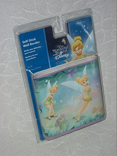 of Disney Tinkerbell Self-stick Wall Border (Tinkerbell Self Stick)