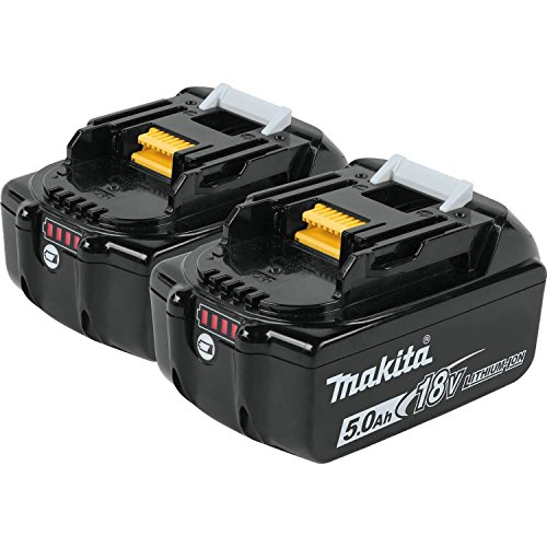 Makita BL1850B-2 18V LXT Lithium-Ion 5.0Ah Battery Twin Pack ()