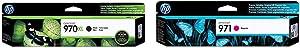 HP 970   PageWide Cartridge High Yield   Black   CN625AM & 971   PageWide Cartridge   Magenta   CN623AM