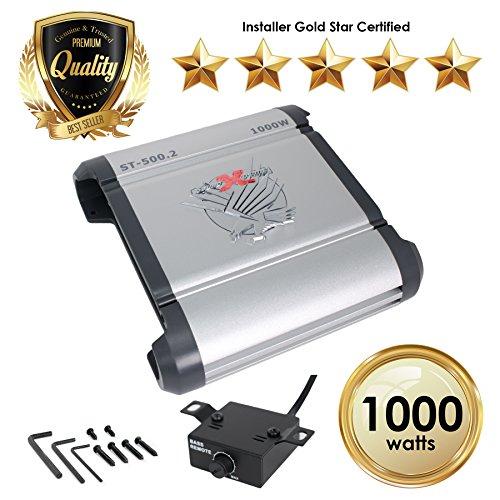 Kicker 12CX3001 600-Watt Monoblock Amp