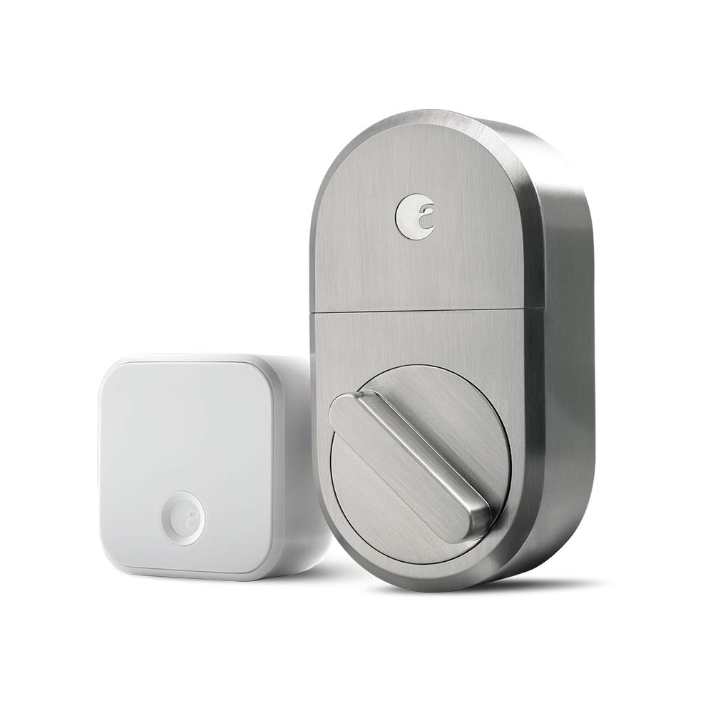 August Smart Lock + Connect, Satin Nickel by August (Image #1)
