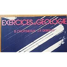 Exercices de géologie