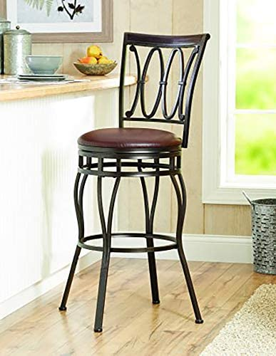 Better Homes and Gardens Adjustable Barstool, Oil Rubbed Bronze Finish