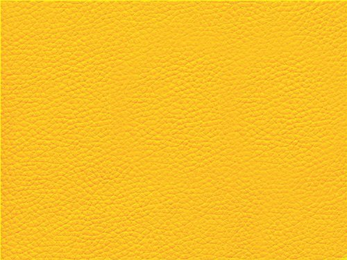 Faux Leather Fabric Calf Bright Yellow Import It All