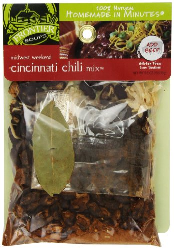 Frontier Soups Homemade In Minutes Chili Mix, Midwest Weekend Cincinnati, 5.5 Ounce