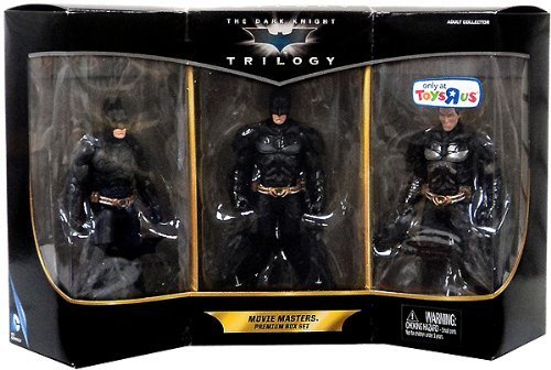 2013 Exclusive Batman the Dark Knight Trilogy Movie Masters Premium Box (Batman Dark Knight Toy)