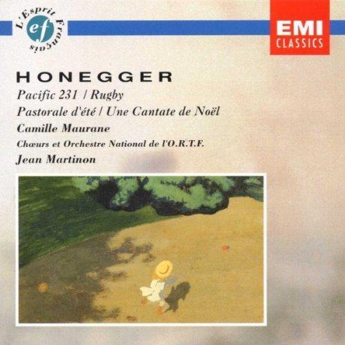 Honegger: Pacific 231 / Rugby / Pastorale d'ete / Cantate de Noel by unknown (2002-11-05)