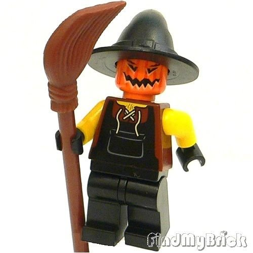 M601 Lego Halloween Zombie Monster Pumpkin Scarecrow Custom Minifigure NEW (US Seller)