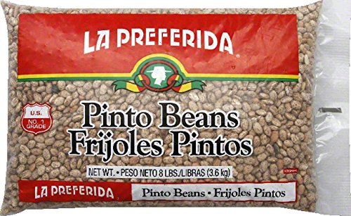 La Preferida Pinto Beans, 8 Pound -- 6 per case. by La Preferida